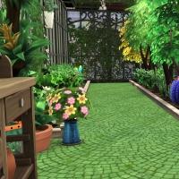Giverny claude monet jardin serre 1