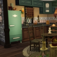 Home Witch Home - La cuisine - vue 1