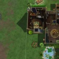 Home Witch Home - Plan du rez-de-chauss�e