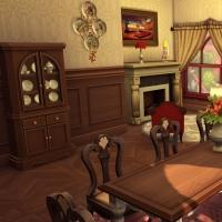 sims 4 strangerville roselyn salle � manger 1