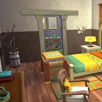 Sims 4 Mata chambre parentale 1