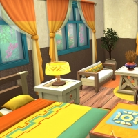 Sims 4 Mata chambre parentale 2