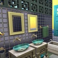 Sims 4 Mata chambre parentale 4