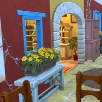 Sims 4 Mata salle a manger 1