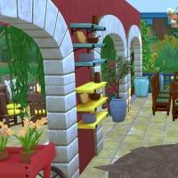Sims 4 Mata salle a manger 2