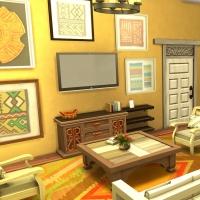 Sims 4 Mata salon 1