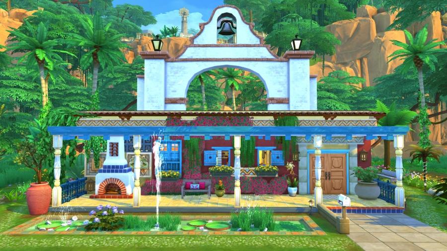 Sims 4 Mata vue exterieur 1