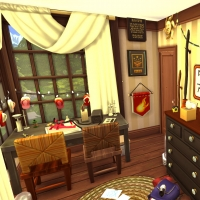 sims 4 terrier chambre fred george