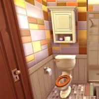 sims 4 terrier chambre parents salle de bain