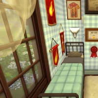 sims 4 terrier chambre percy 1