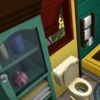 Yourte boh�me - la salle de bain 1