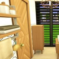 14 aloes mini maison salle de bain