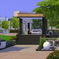 4  aloes mini maison vue exterieure