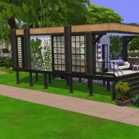 6  aloes mini maison vue exterieure
