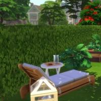 Une vie � deux - table de composition florale et coin potager