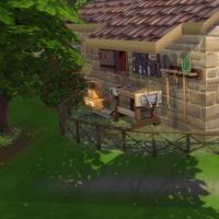 Le bon vieux temps - le coin bricolage � l'arri�re de la maison