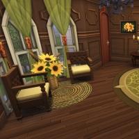 hatfield palace 2e etage chambre verte 1