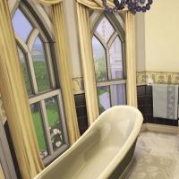 hatfield palace 2e etage chambre verte salle de bain 2