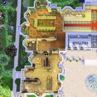 hatfield palace plan rez de chauss�e