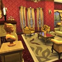 hatfield palace premier etage biblioth�que 1