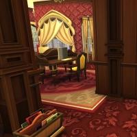 hatfield palace premier etage biblioth�que 3