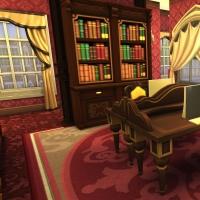 hatfield palace premier etage biblioth�que 4