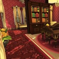 hatfield palace premier etage biblioth�que 5