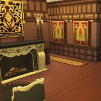 hatfield palace premier etage couloir droit 1