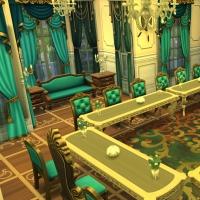 hatfield palace salle � manger 2