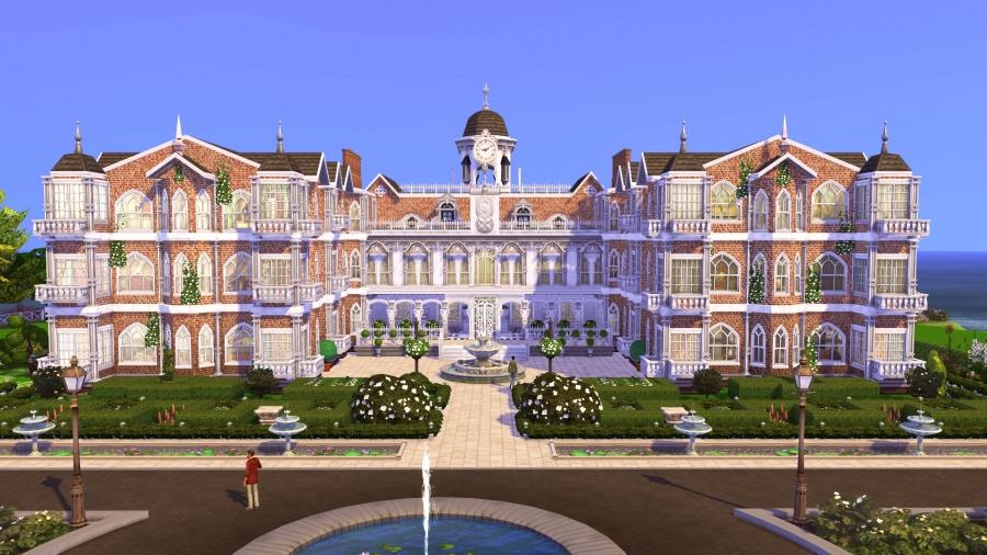 hatfield palace vue exterieure 1