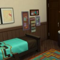 Esperanza - chambre d'enfant - vue 1
