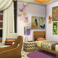 79  flora interieur chambre fillette