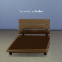 Cadre-Futon-double