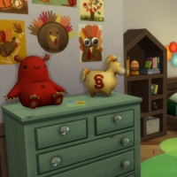 Retour aux sources - la chambre pour enfant et bambin - vue 1