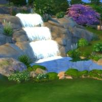 Retour aux sources - la cascade et la maison