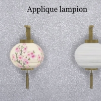Applique-lampion
