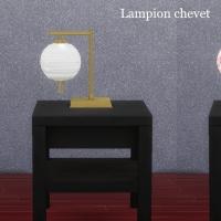 Lampion-chevet
