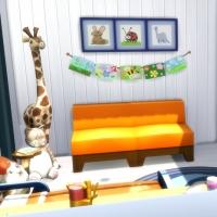 Felicidad - la chambre de bambin - vue 2
