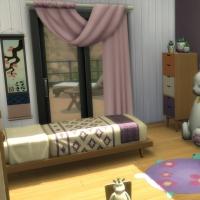 Felicidad - la chambre de fille - vue 2