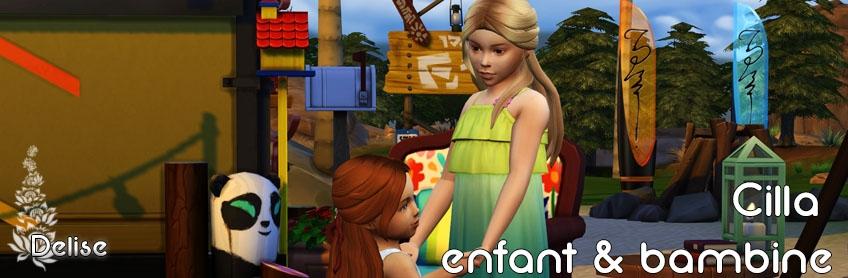 Cilla Enfant et bambines