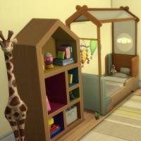 Evergreen - la chambre pour bambin - vue 1