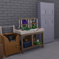 Evergreen - le garage