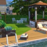 Evergreen - le jardin - vue 1