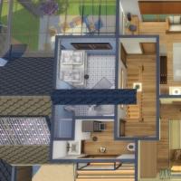 Evergreen - vue aérienne de l'étage