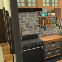Appartement 1310 - le coin cuisine