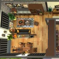 Appartement 1310 - vue aérienne de l'appartement