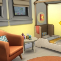 Douceur de vivre - la chambre pour bambin - vue 1