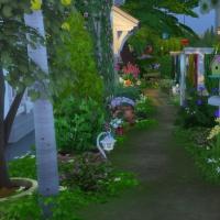 Douceur de vivre - chemin vers le jardin