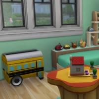 Douceur de vivre - la chambre pour enfant - vue 2