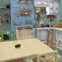 Douceur de vivre - la cuisine - vue 1